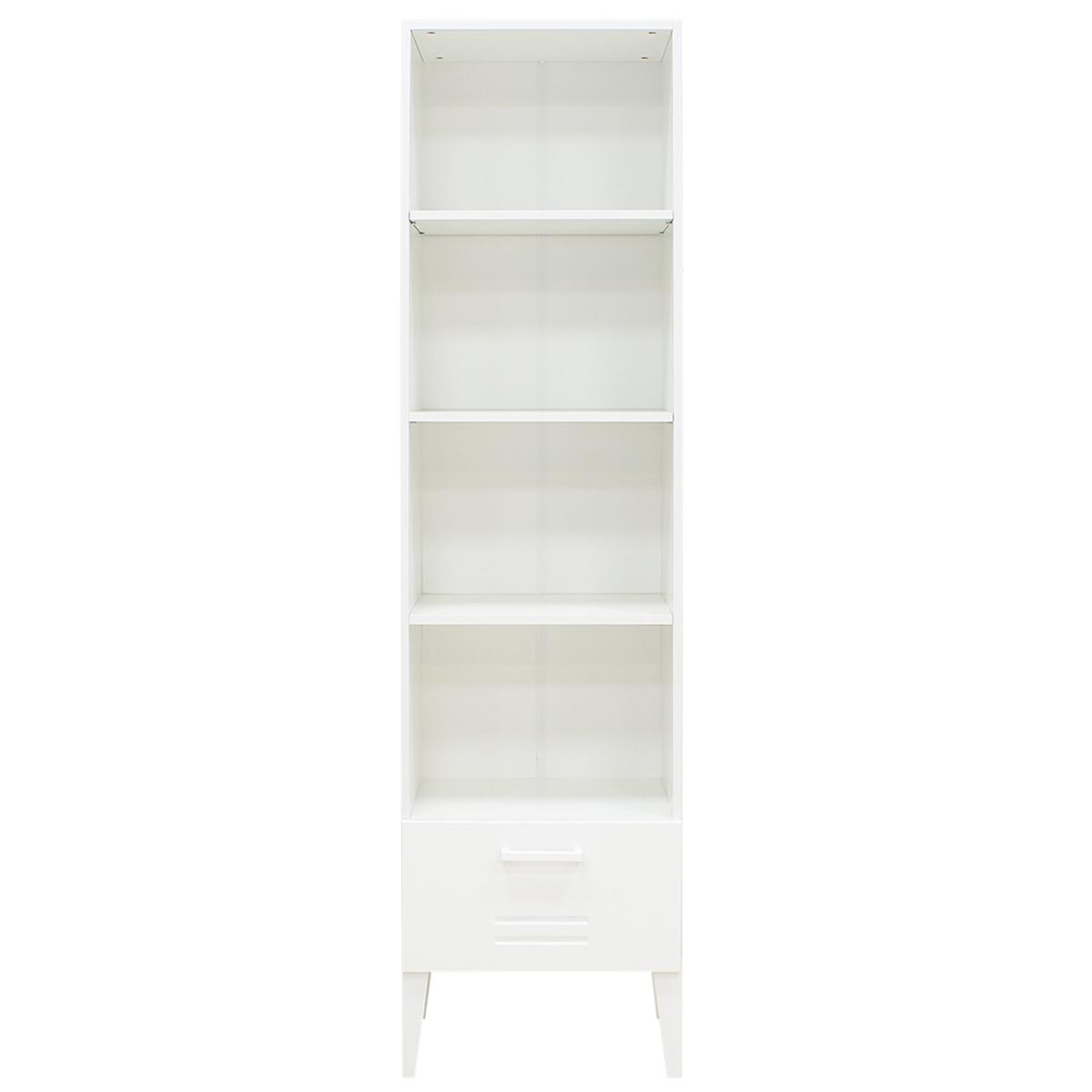 Bibliothèque LOCKER Bopita blanc