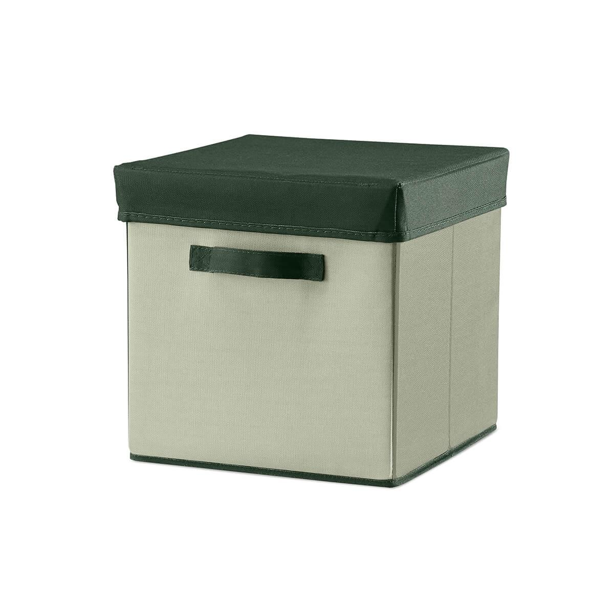 Boîte rangement 30x30 cm ROOM COLLECTION Flexa light-dark dusty green