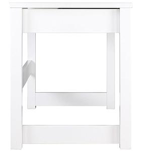 Bureau 140x60x76cm SYO Bopita blanc