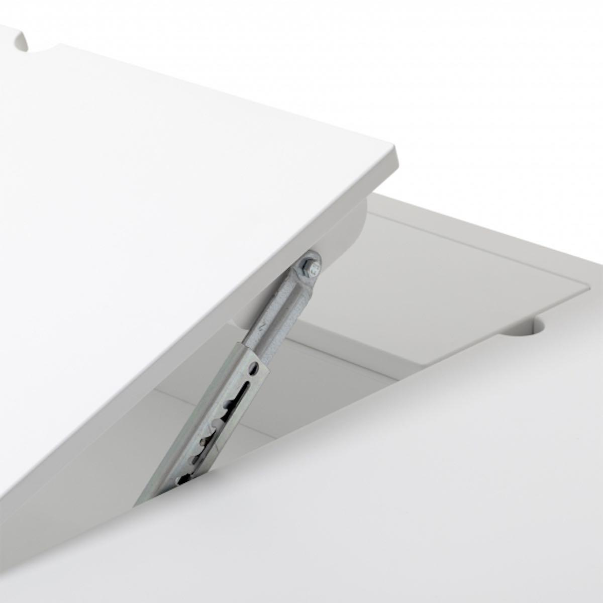 Bureau 72,6cm WOOD Oliver Furniture blanc-chêne