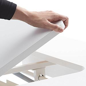 Bureau évolutif inclinable right up MOBY Flexa blanc