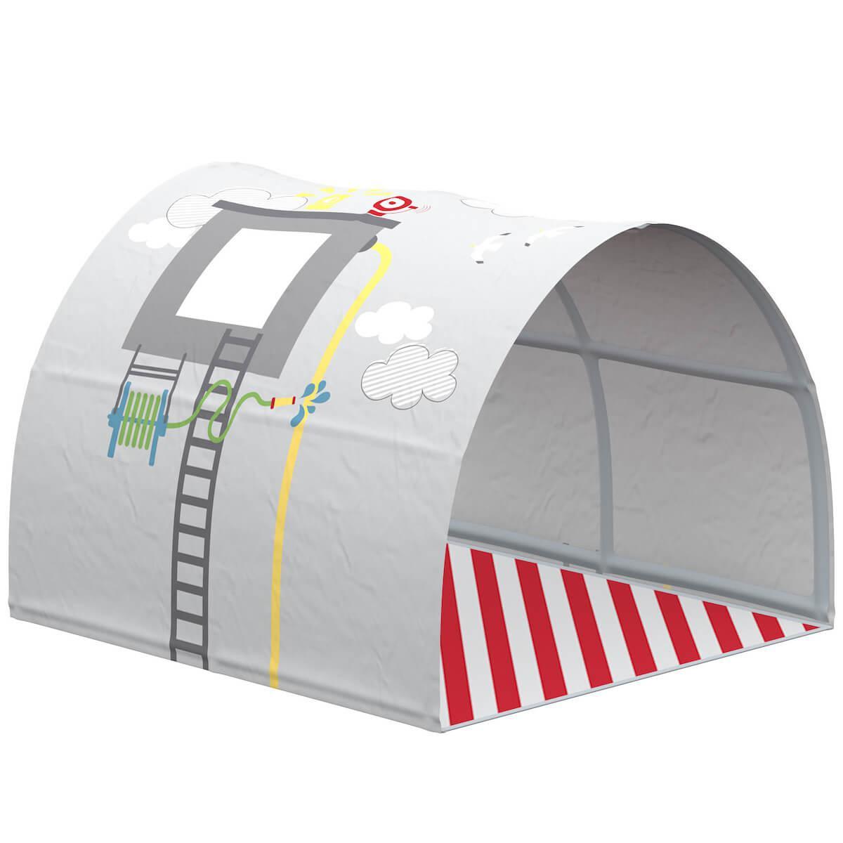 Cabane tunnel jeu PETITS HEROS Flexa