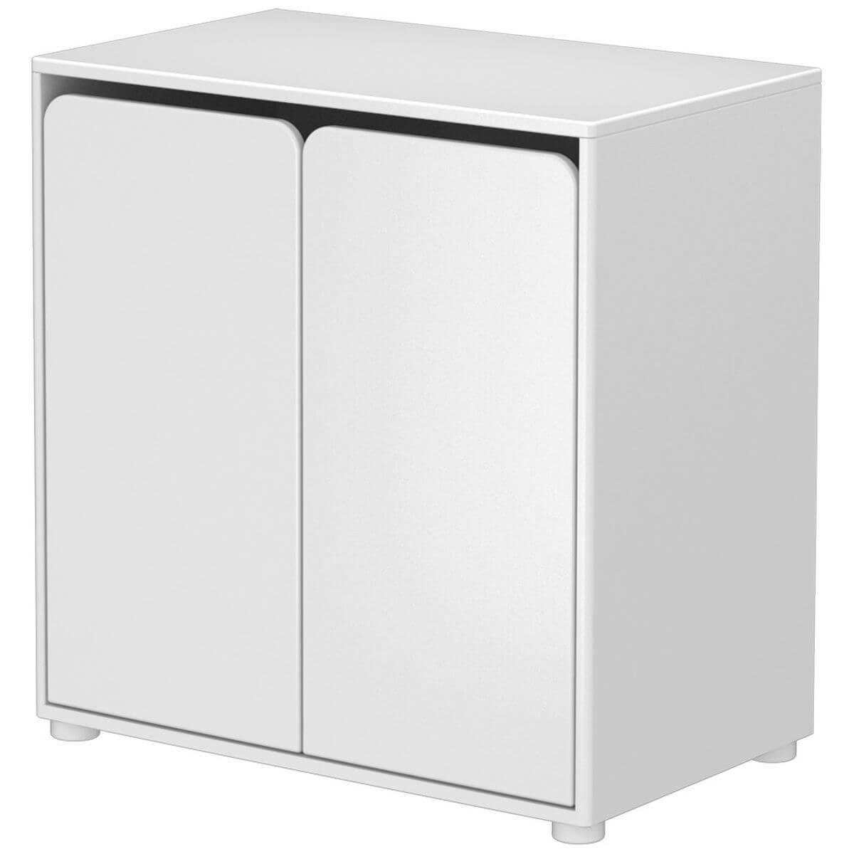 CABBY by Flexa Armoire 2 portes Blanc
