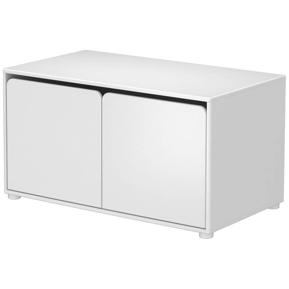CABBY by Flexa Armoire basse 2 portes Blanc