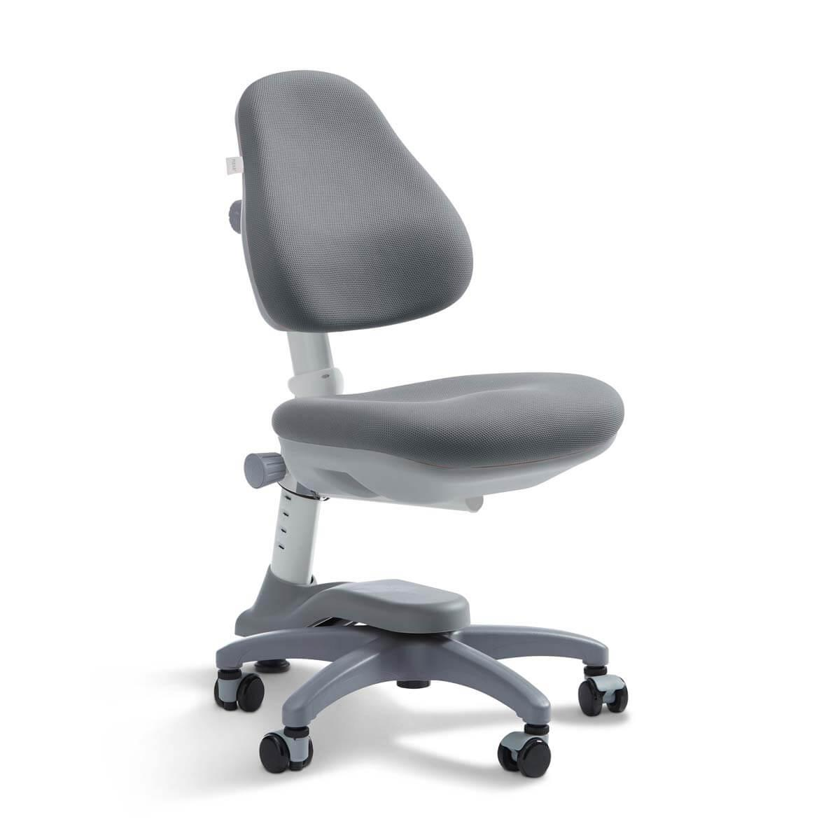 Chaise bureau 7-12Y NOVO Flexa light grey
