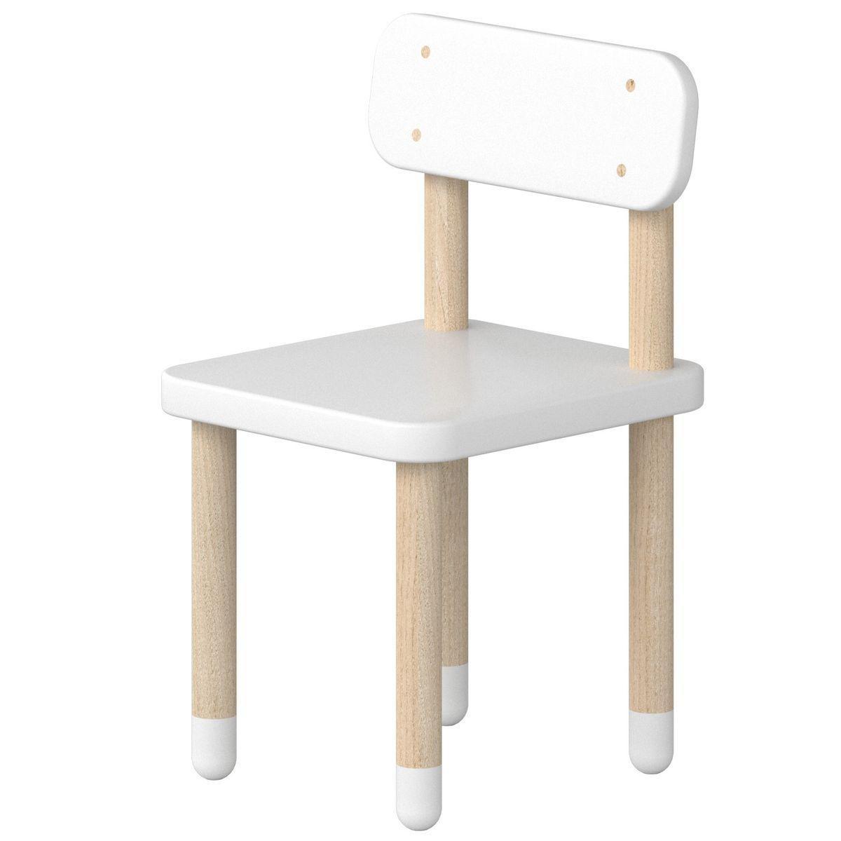 Chaise enfant PLAY Flexa blanc