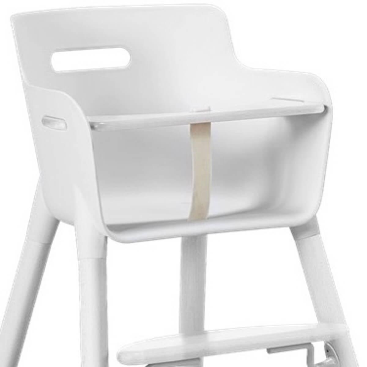 Chaise haute bébé BABY Flexa blanc