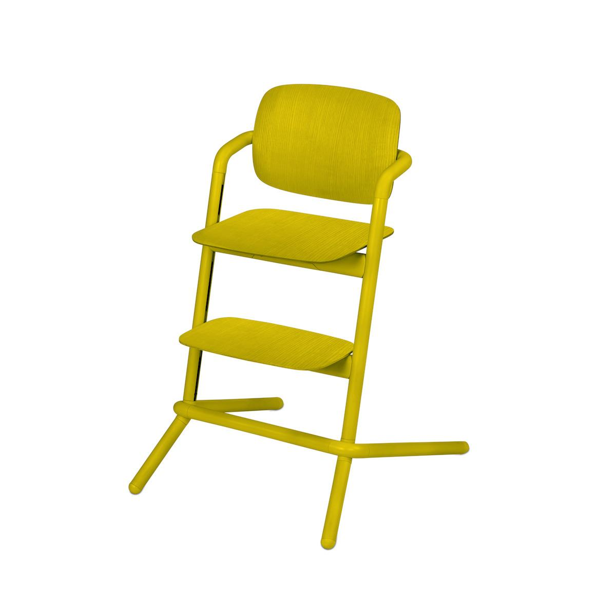 Chaise haute bois LEMO Cybex canary yellow-yellow