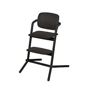 Chaise haute bois LEMO Cybex infinity black-black