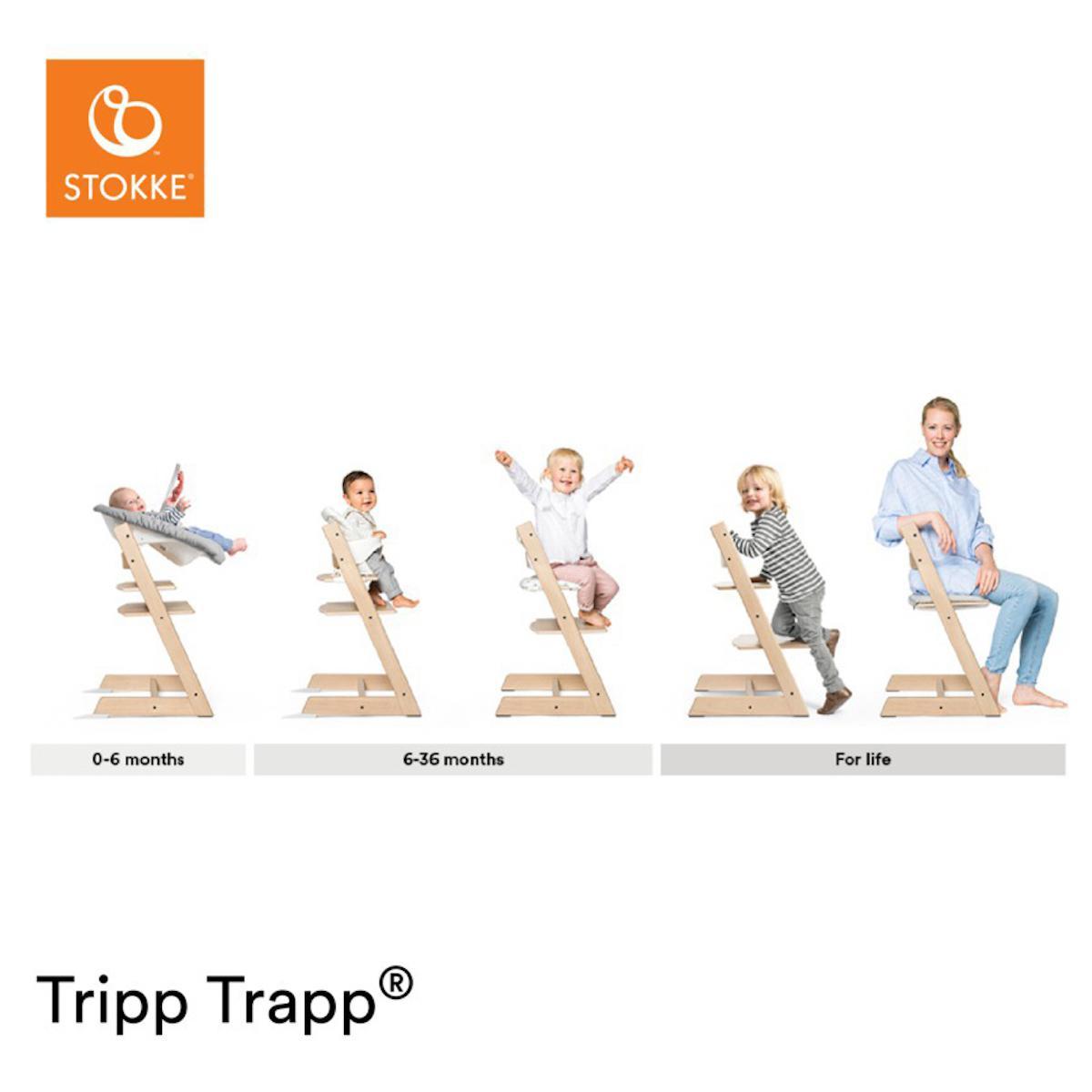 Chaise haute chêne TRIPP TRAPP Stokke naturel