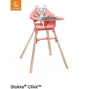 Chaise haute CLIKK™ Stokke corail ensoleillé