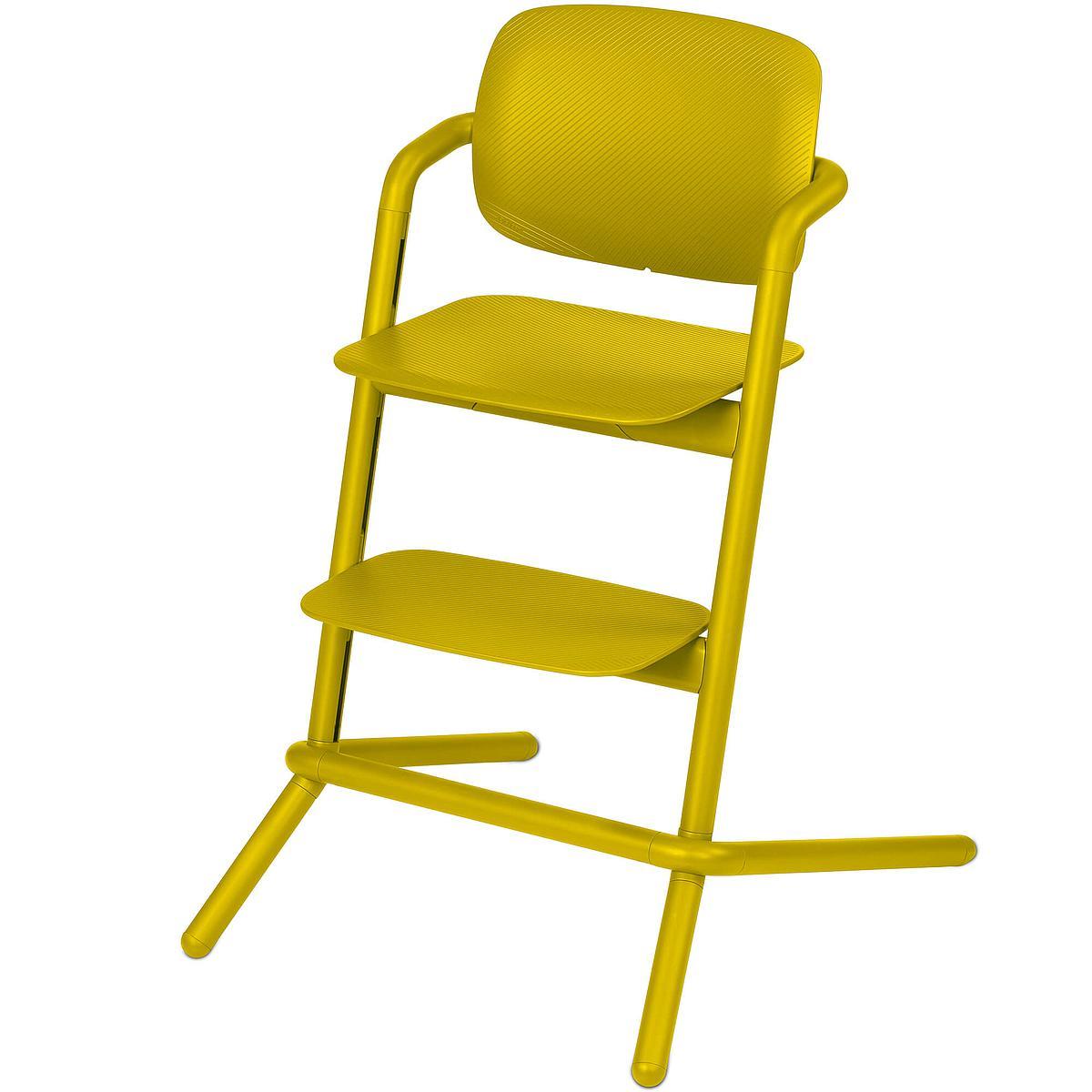 Chaise haute LEMO Cybex canary yellow-yellow