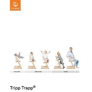 Chaise haute TRIPP TRAPP Stokke Warm Red