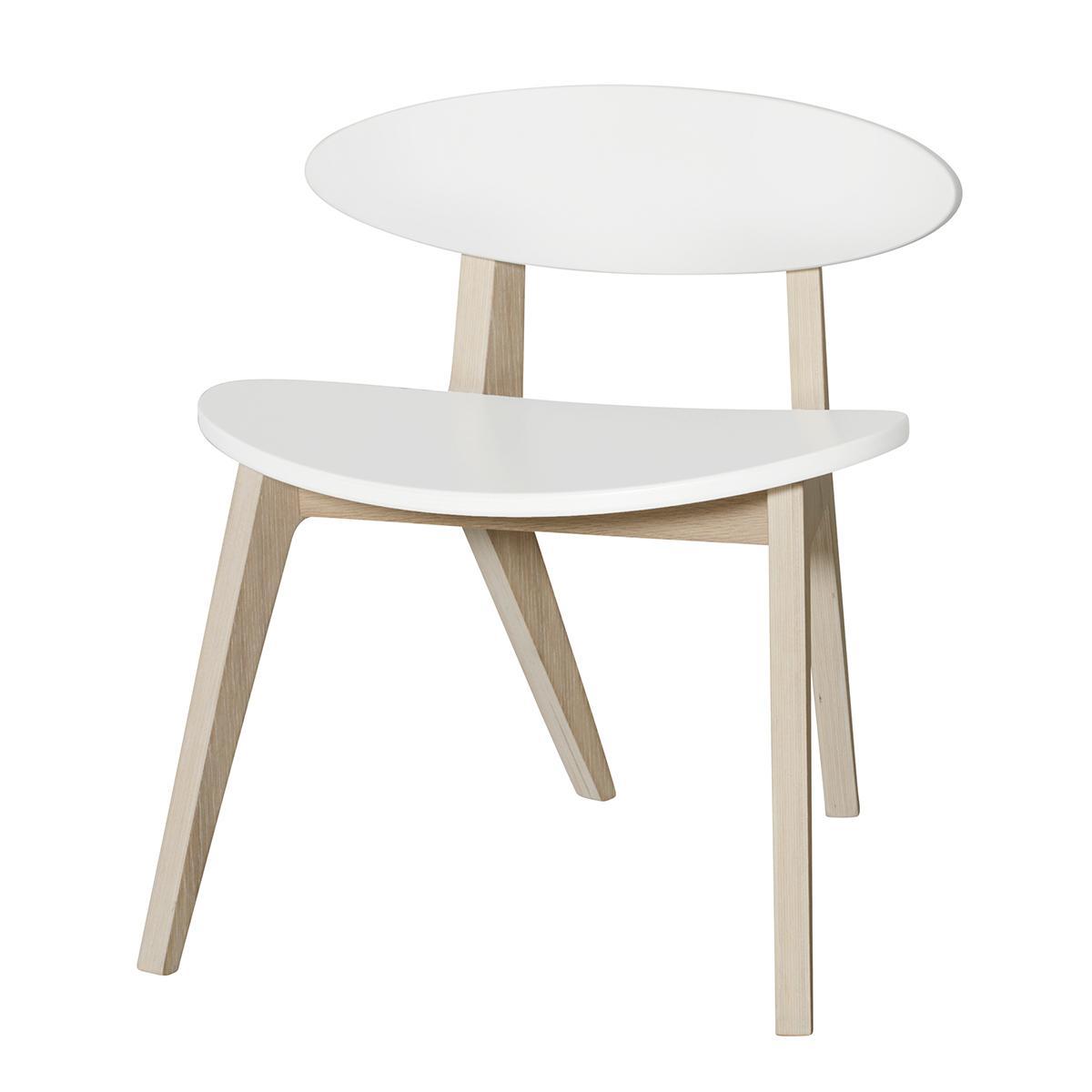 Chaise PingPong WOOD Oliver Furniture blanc-chêne