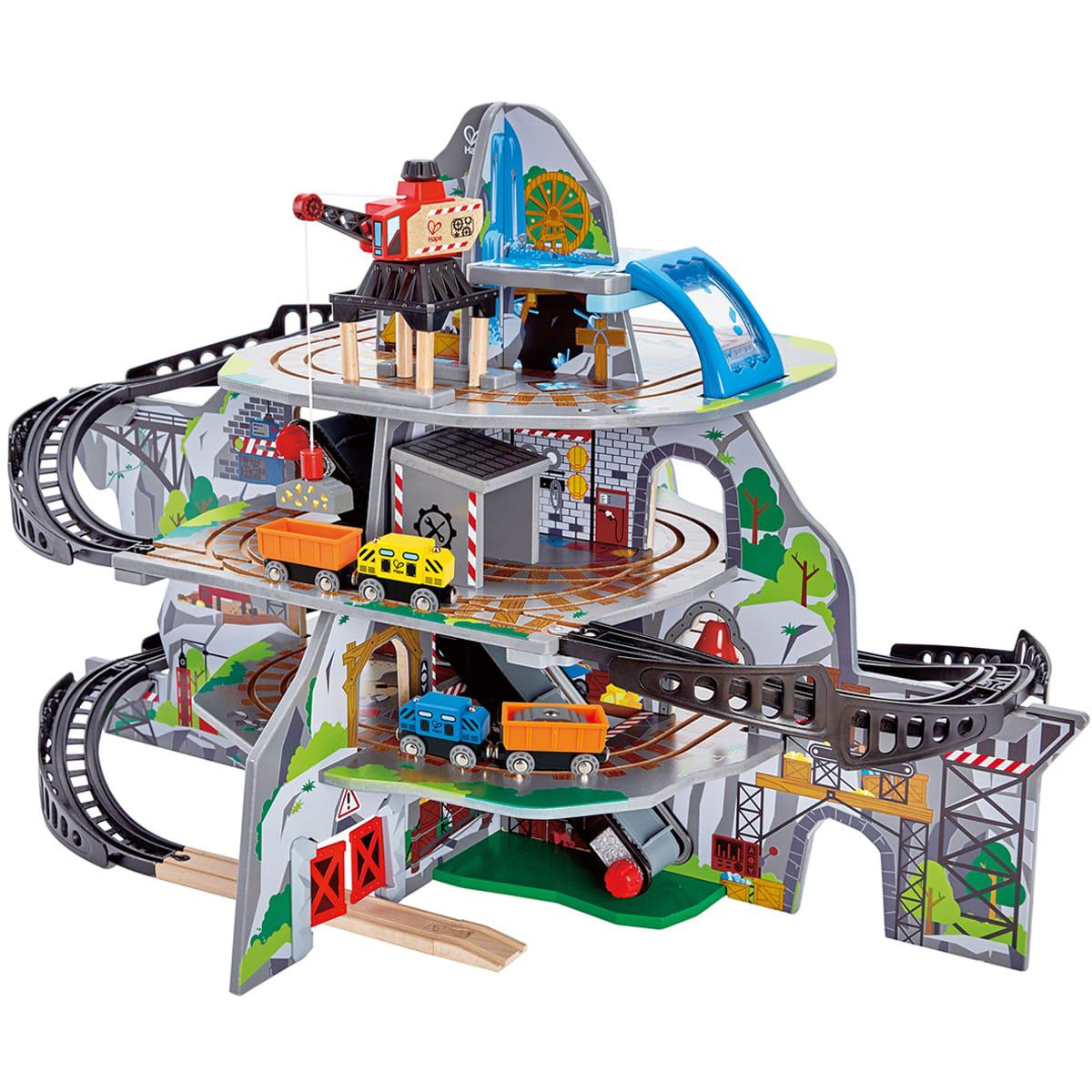 Circuit de train MIGHTY MOUTAIN MINE Hape