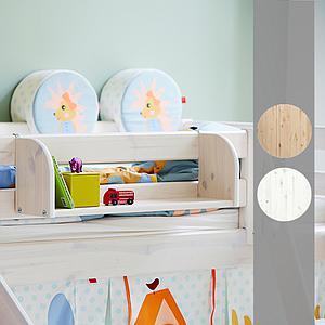 CLASSIC by Flexa Etagère blanchie large pour mur ou lit by Flexa blanchie