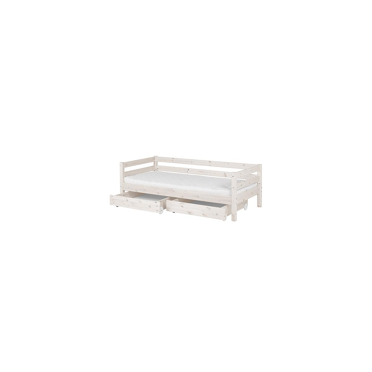 CLASSIC LINE by Flexa Lit 90x200 cm + 2 tiroirs
