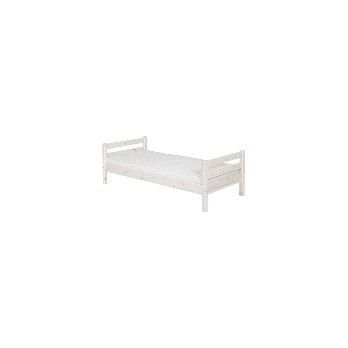 CLASSIC LINE by Flexa Lit de base blanchi 90x200 cm