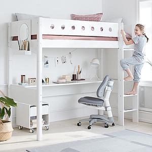 CLICKON by Flexa Miroir Blanc pour lit White ou à suspendre