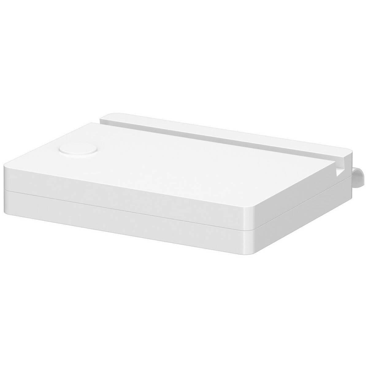 CLICKON by Flexa Support tablette tactile Blanc pour lit Classic