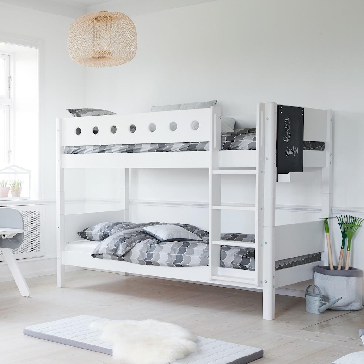 CLICKON by Flexa Tableau noir pour lit White ou à suspendre