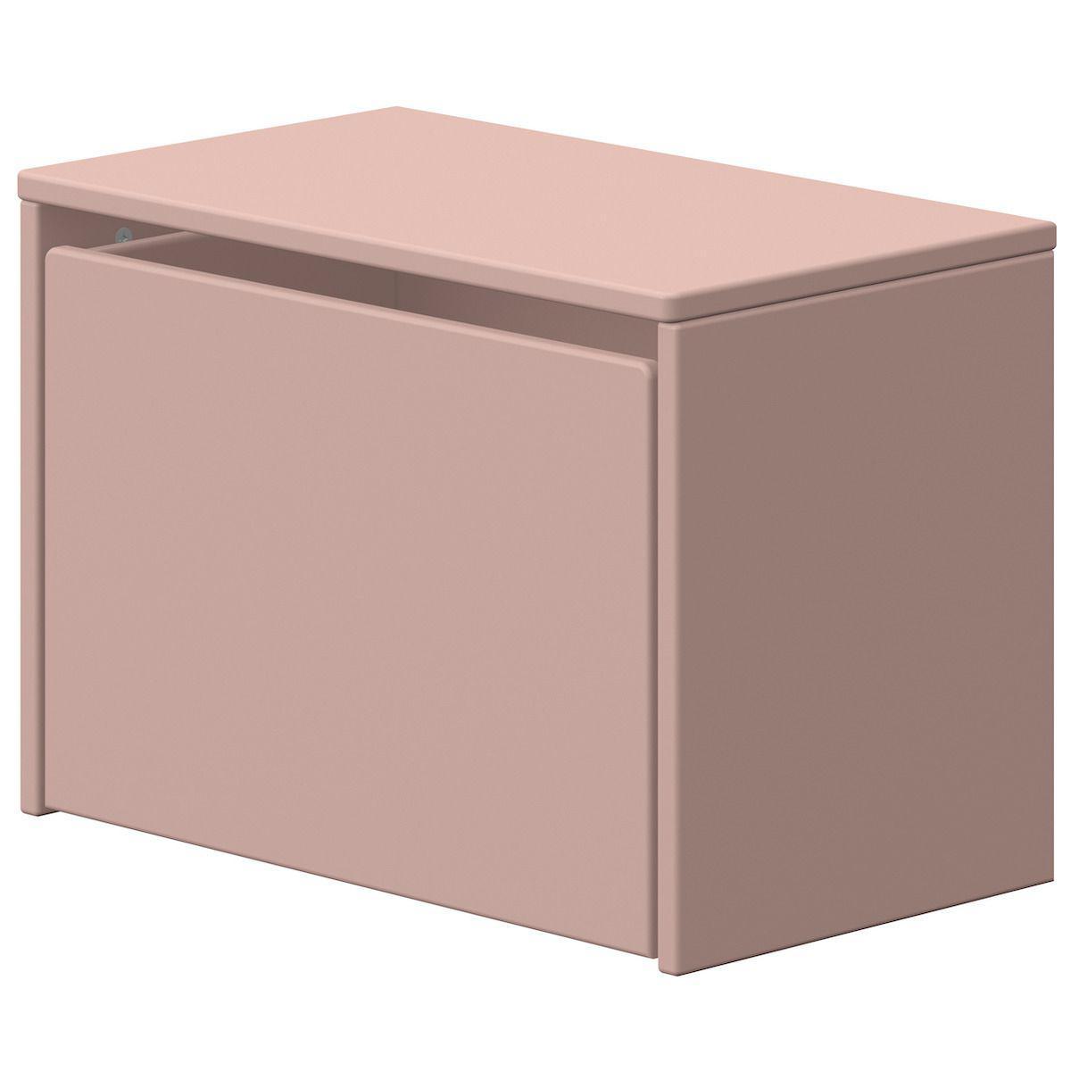 Coffre à jouets PLAY Flexa rose