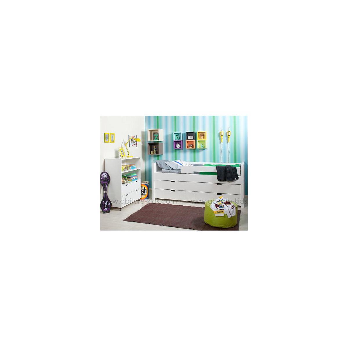 COMBIFLEX by Bopita lit compact avec tiroirs + armoire