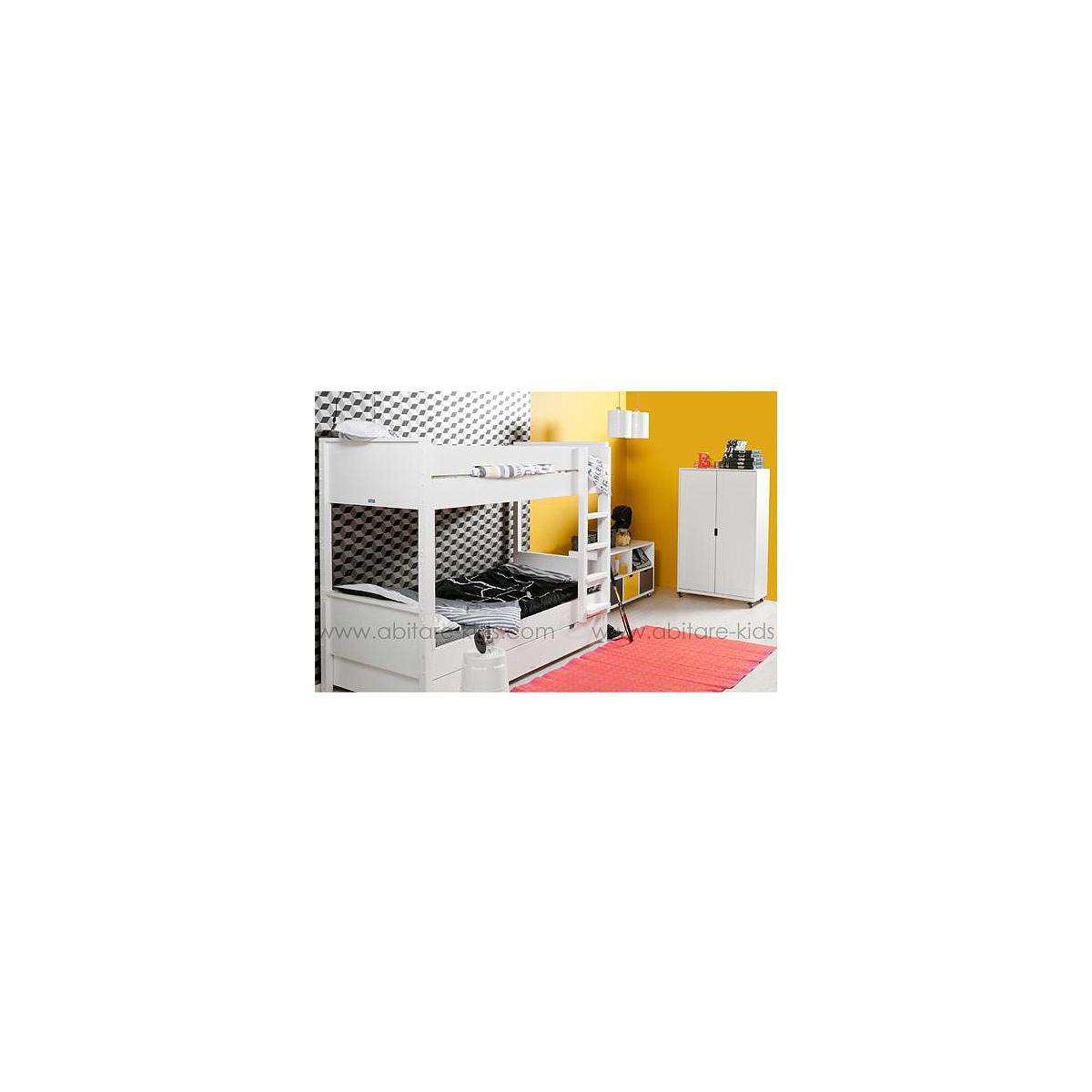 COMBIFLEX by Bopita Lits supérposés avec tiroir + armoire et commode avec rangement tiroirs inclus
