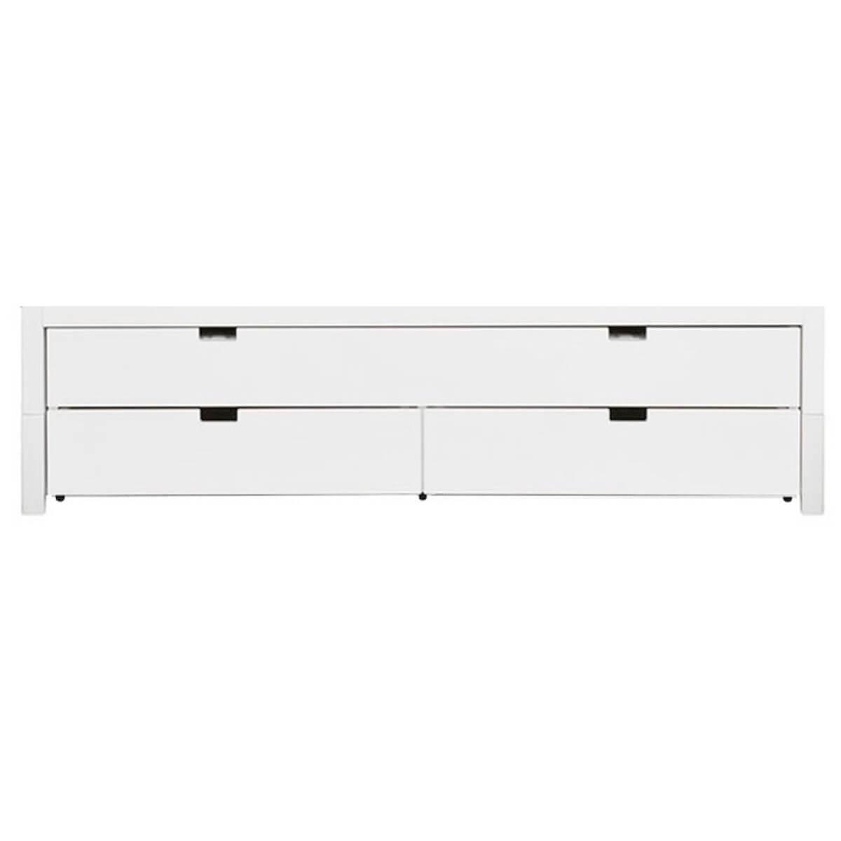 COMBIFLEX by Bopita Tiroir lit et deux tiroirs de rangement Blanc