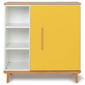 Commode 1 porte NADO sunshine yellow