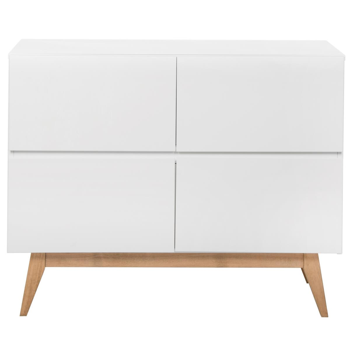 Commode 110x90cm TRENDY Quax blanc