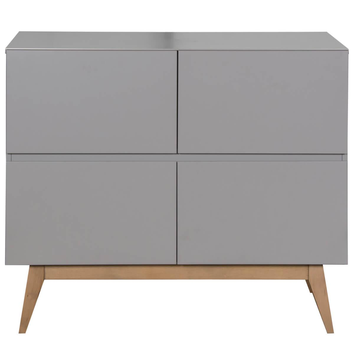 Commode 110x90cm TRENDY Quax Griffin grey