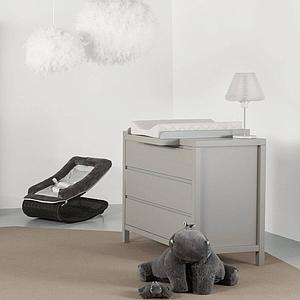 Commode 113x90cm STRIPES Quax Griffin grey