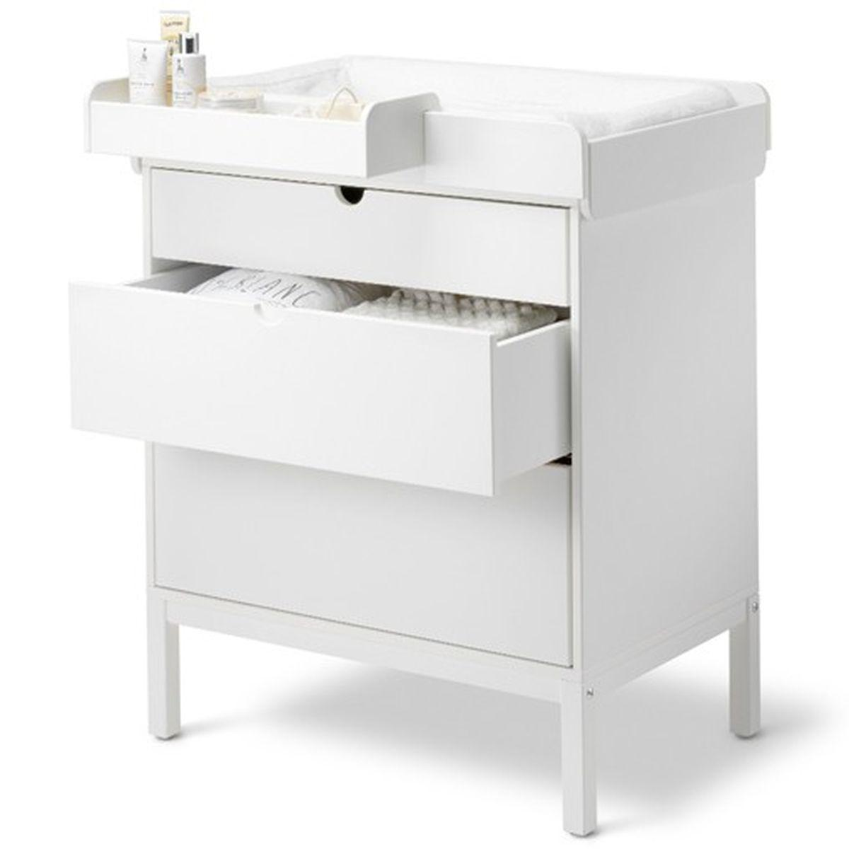 Commode 3 tiroirs HOME Stokke blanc