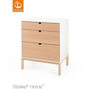 Commode 3 tiroirs HOME Stokke naturel