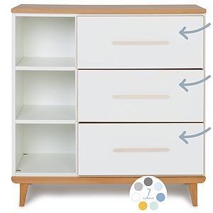 Commode 3 tiroirs hors façades NADO By A.K.