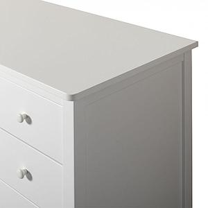 Commode 4 tiroirs SEASIDE Oliver Furniture blanc
