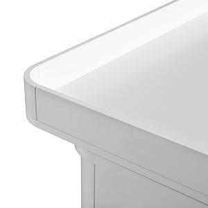 Commode 6 tiroirs plan à langer xl WOOD Oliver Furniture blanc