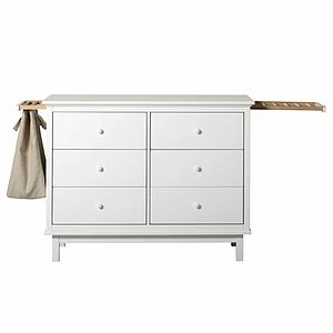 Commode 6 tiroirs SEASIDE Oliver Furniture blanc