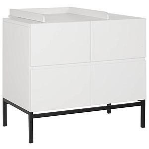 Commode 94x85cm HAVANA Quax blanc