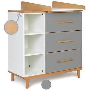 Commode à langer 3 tiroirs NADO By A.K. slate grey