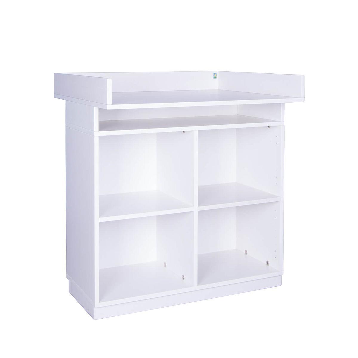 Commode à langer sans portes DESTYLE de Breuyn blanc