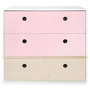 Commode COLORFLEX façades tiroirs sweet pink-white wash