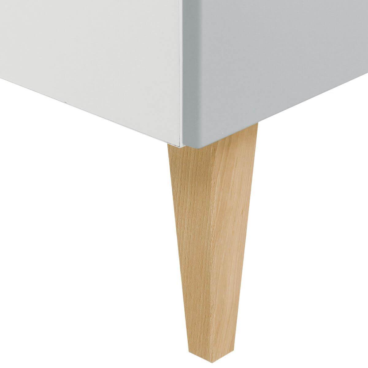 Commode EMMA Bopita blanc-gris