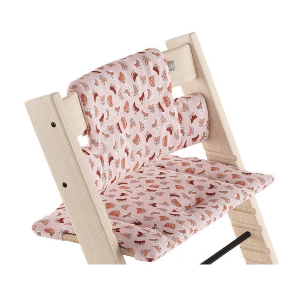 Coussin chaise haute TRIPP TRAPP Stokke Pink Fox