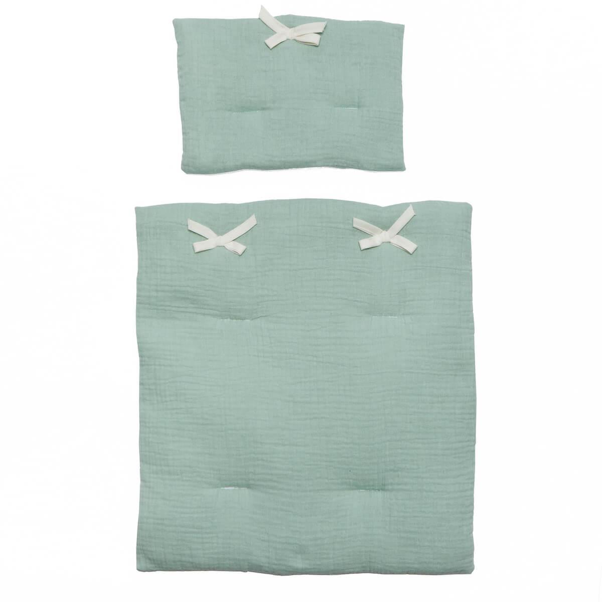 Couverture-oreiller poupée BOBBLE vert