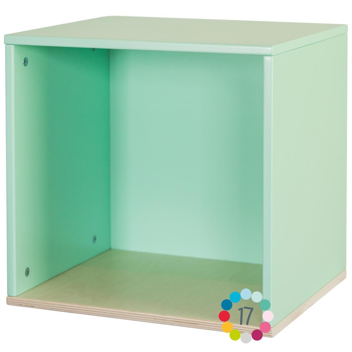 Cube mural COLORFLEX mint