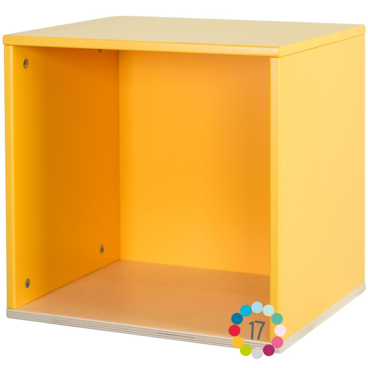 Cube mural COLORFLEX nectar yellow