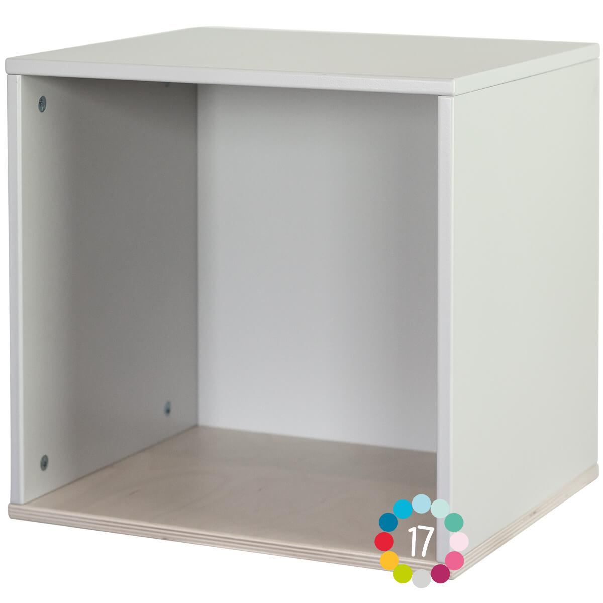 Cube mural COLORFLEX pearl grey