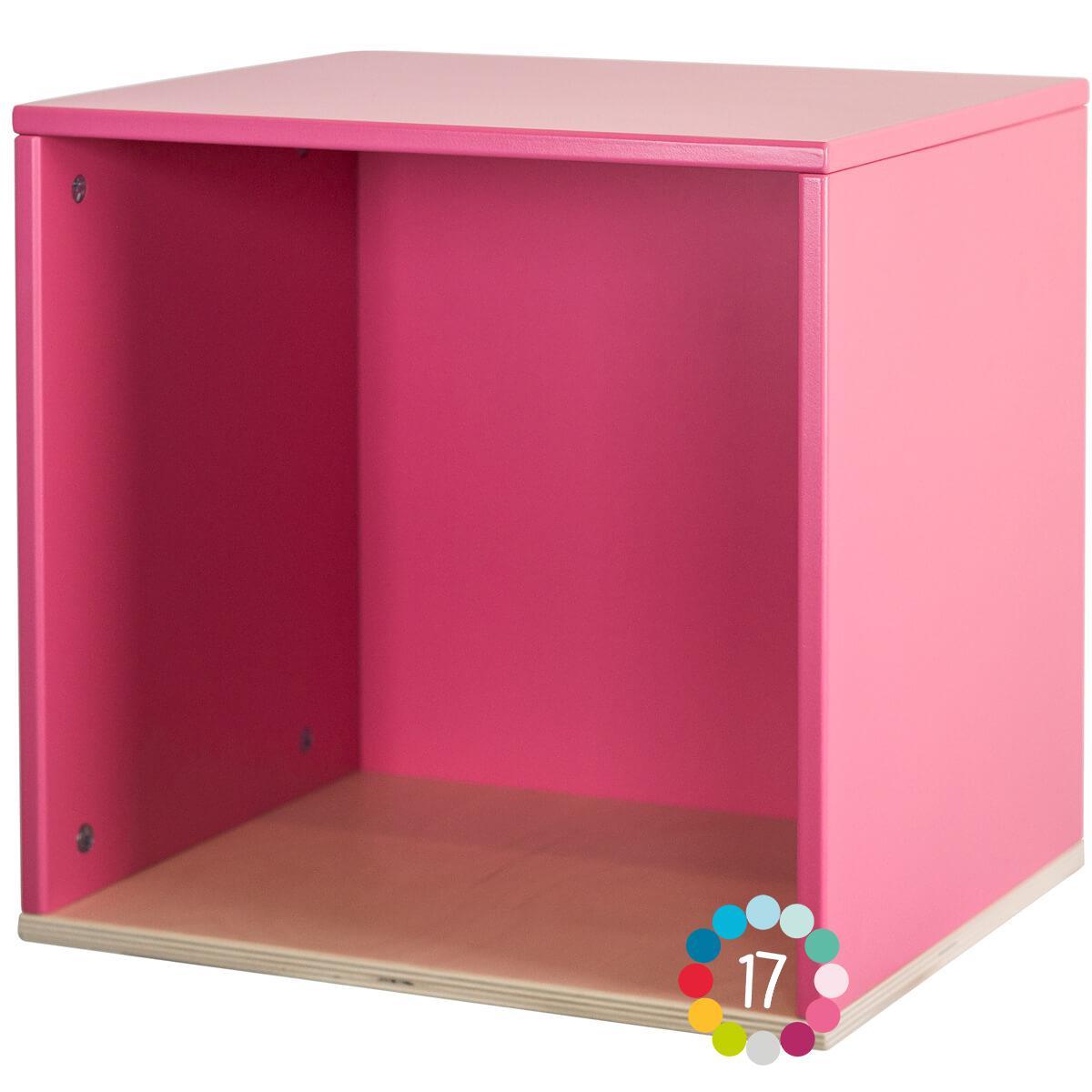 Cube mural COLORFLEX pink